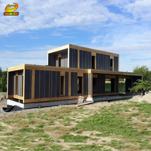 Small prefab houses tempting tiny living 40ft container house