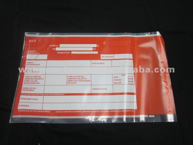 LDPE Courier Security Bag