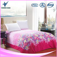 Korean Moat Popular Designs Bed Sheet for Wedding