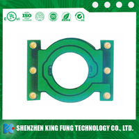 custom ps4 controller pcb,fr4 single sided pcb production line