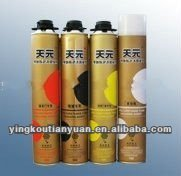 high quality chemical raw material expanding pu foam for cement