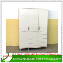 white melamine chipboard wardrobe