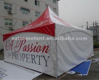 Heavy Duty Aluminum High peak Pagoda Tent