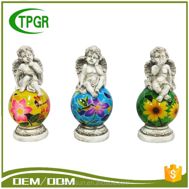 2016 Newest High Quality Polyresin Casting Material Angel Polyresin Statue