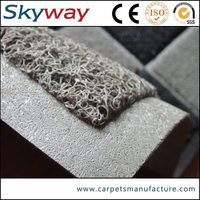 High quality best price pvc coil logo rubber mat