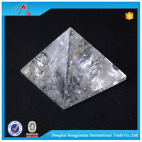 modern quartz pendulum home decoration favors pyramid