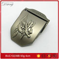 Wholesale overalls 4cm woven tape plating Sn eagle belt buckle