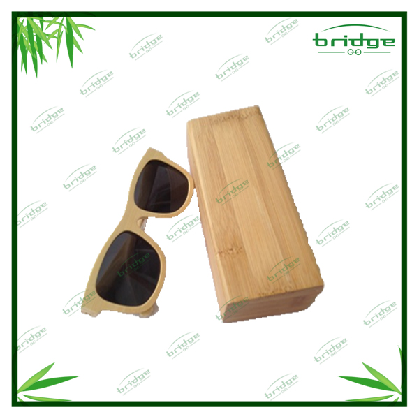 hot sale classic bamboo sunglasses with box