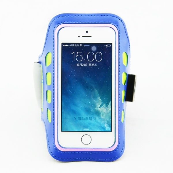 2015 new design Running Buddy Arm Phone Holder with LED lights