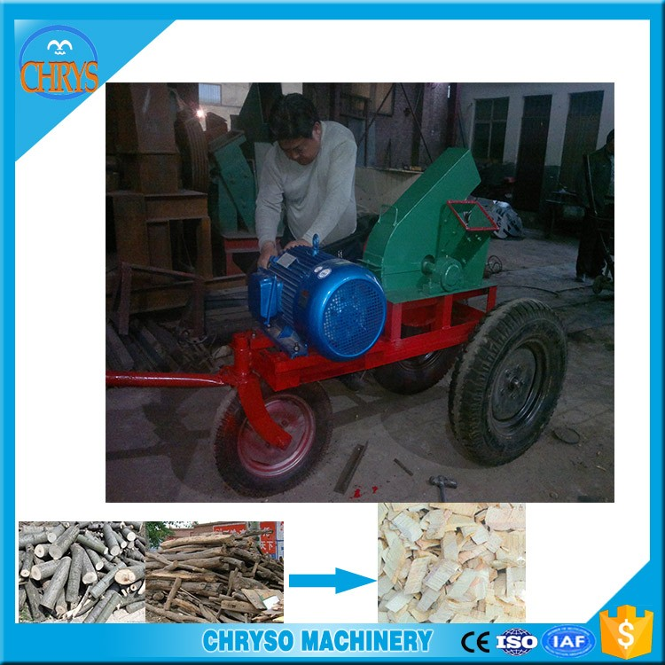 Industrial log branch wood chipper cutting tree machine for sale
