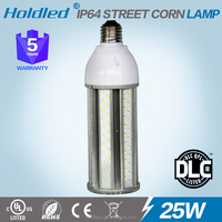ul dlc IP64 25w corn led bulb cul listed 2835 smd e27 led corn light 25W