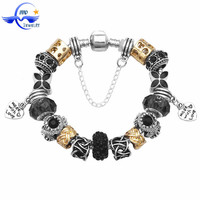Wholesale Autism Awareness Fashion 2015 European Promotional Gift Custom Engraved Metal Bracelet