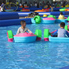 Commercial grade kids paddle boat used pedal boat for sale