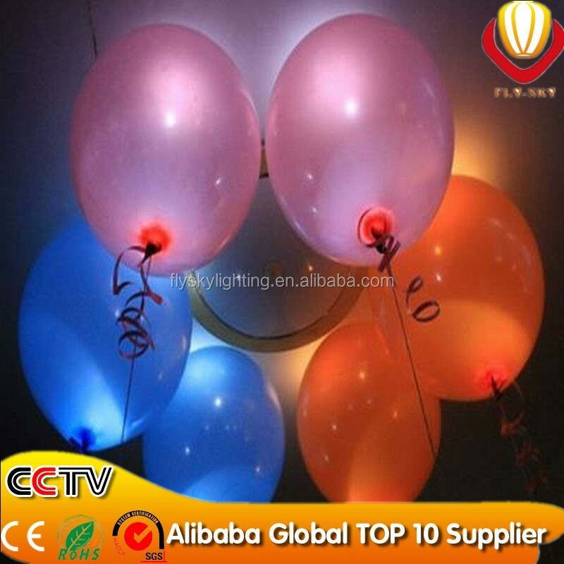 new promotional products led balloon light,flashing led neon balloon YIWU number one professional manufacturer