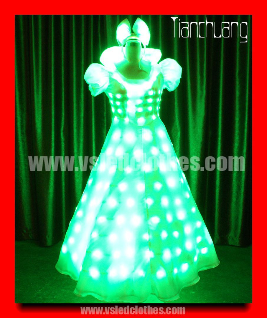 Tianchuang Flash Ballet Girls Dance Costume
