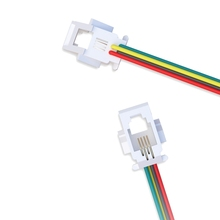 Hot selling RJ11 RJ12 RJ45 4P4C 6P6C connectors 623k telephone wire jack