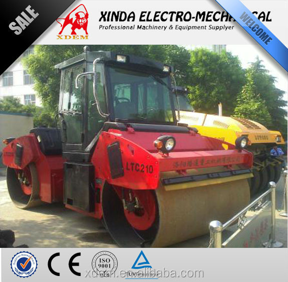 Lutong LTC210 10 Ton Hydraulic Double Drum Vibratory Road Roller