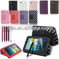 New Arrival 360 Degree Rotating PU Leather Stand Case Cover for Samsung Galaxy Tab 2 7 Inch Tablet P3100 P3110