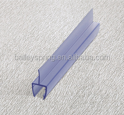 B001 Silicone Rubber Foam Strip for Seals Door Shower Room door bottom glass seal weather strip