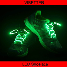 Fashionable 3 Color LED Shoelaces Magic Colorful Light For Disco Party Clubbing Hip Hop Break Dance