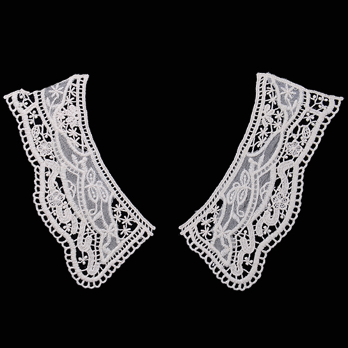 cotton embroidered crochet Lace Collar