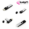 Swivel 32GB USB2.0 Ultra Port Android Smart Phone Tablet PC OTG Flash Drive
