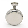 5 OZ Mirror stainless steel flagon / stainless steel hip flask / stainless steel wine bottles (with small funnel)