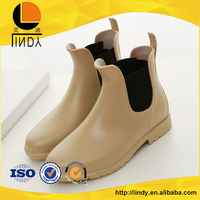 England style morden women leather rain boots shoes
