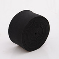 50mm Black Woven Elastic Tape