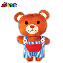 Brand promotion diy toy gift Bear diy sewing kit dolls for kids