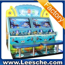 LSJQ-677 Wholesale price Four players Brand new type arcade fishing game machine with HD video game
