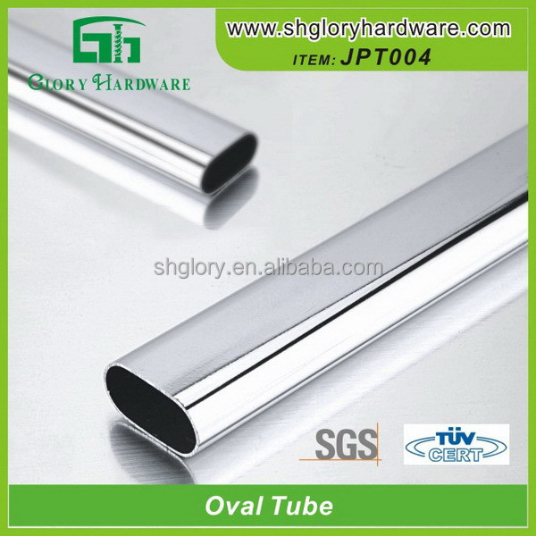 Top Quality Promotional Prices Weld Aluminum Oval Tubes