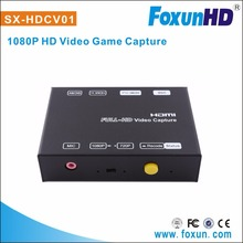 SHUNXUN SX-HDVC01 hot selling Professional 1080p60hz HDMI Full HD 1080P Game Capture HDMI game capture