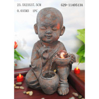 Religious buddha fountain led fountain for sale