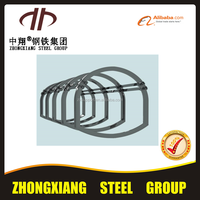 Zhongxiang standard U type steel beam for sale with best price