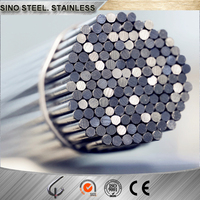 Top quality 304 stainless steel round bar with polished light