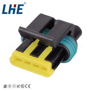 auto 4 pin connector toyota wire connector 444046 male female wir