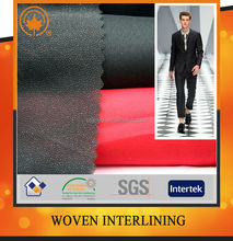 Wholesale fusible interfacing for apparel with high quality and low price