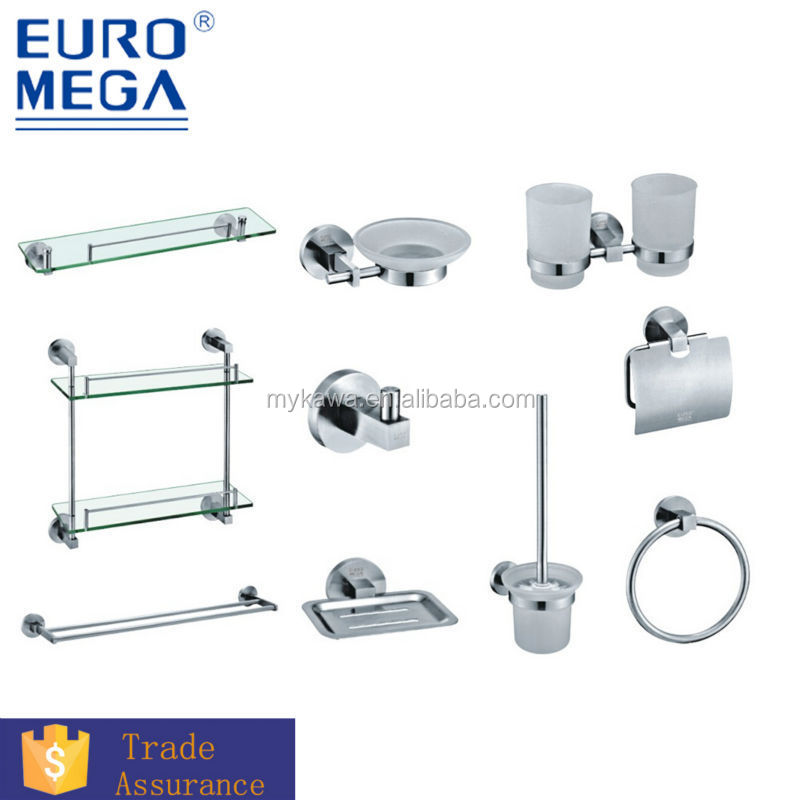 cina moderna set bagnostanza da bagno accessori hardware set 304 316 in acciaio inox