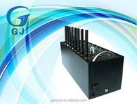Wavecom Q2403 gsm bulk sms modem/8 port modem pool/gsm sim box voip gateway