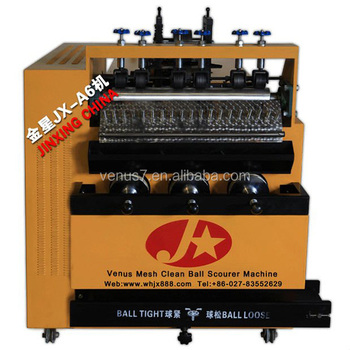 hot sale/ hot sell cheap Galvanized scourer making machine