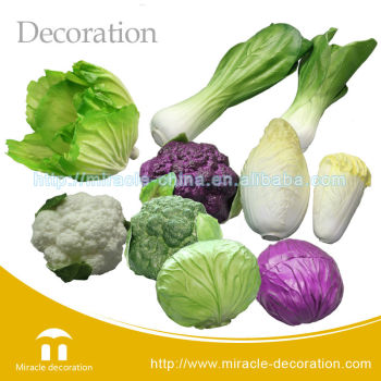 Cheap artificial vegetables