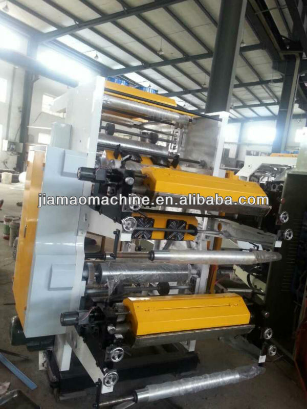 tow-Color plastic film bag Letterpress Printing Machine for sale