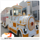 Beston best-selling electric trackless train/used tourist road train for sale
