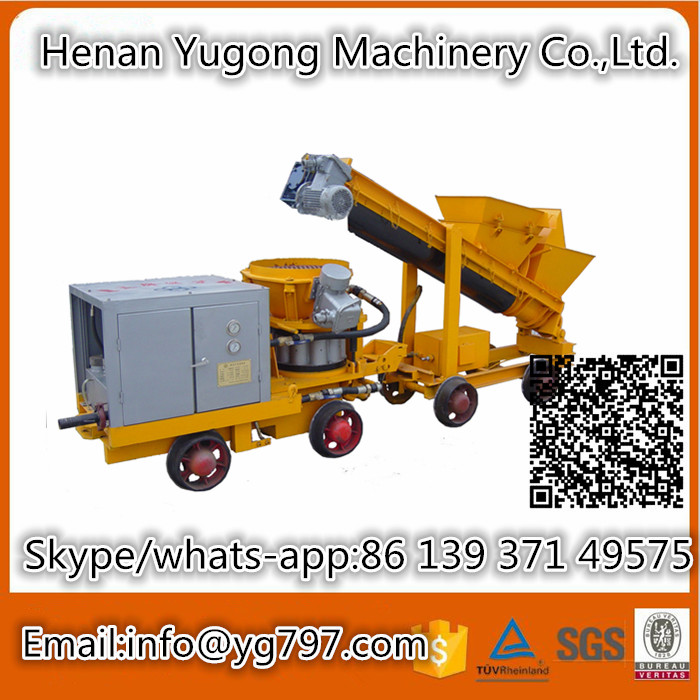 2016 Factory Hot sale to Samsun dry model concrete spraying equipment