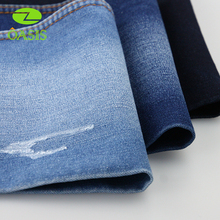 2017 wholesale super spandex denim fabrics with 80% stretch for jeans