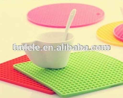 LELE elegant style silicone cup mat and coaster manufacturer