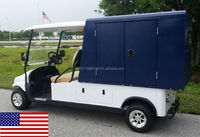 Cruise Car Brand 2P Electric American Utility Van with 4'x6'x4' Box (M2CV6)