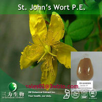 3W provide St. John Wort P.E. powder in china