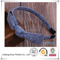 High quality woolen hair clasp , angle hair decoration